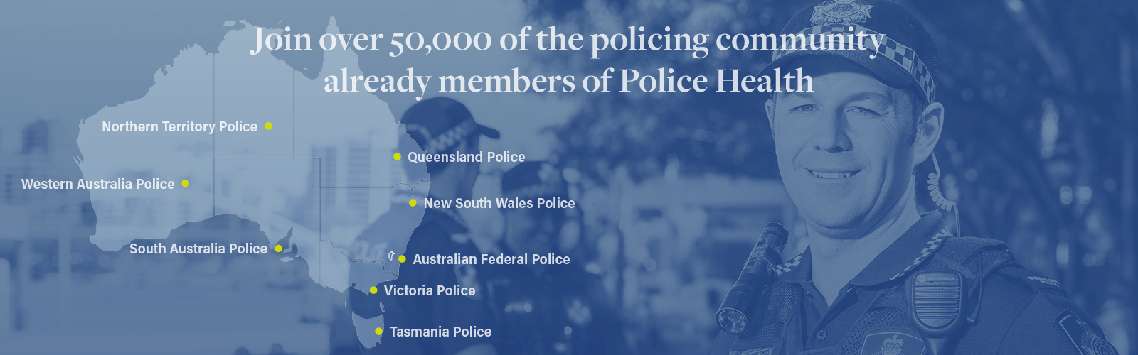 Police Health Cover Available Australia Wide