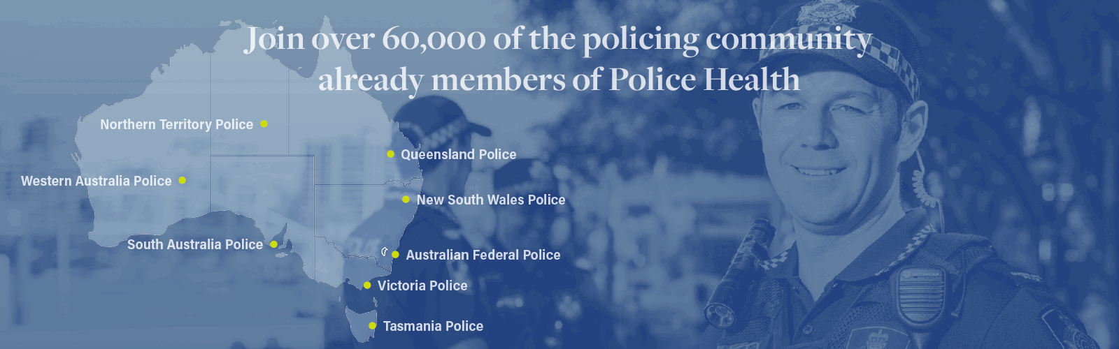 Police Health Available Nationally